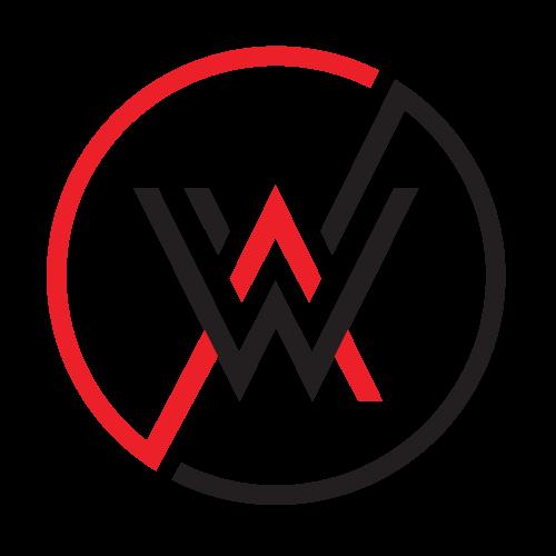Adamo Web Design Red and Black Logo