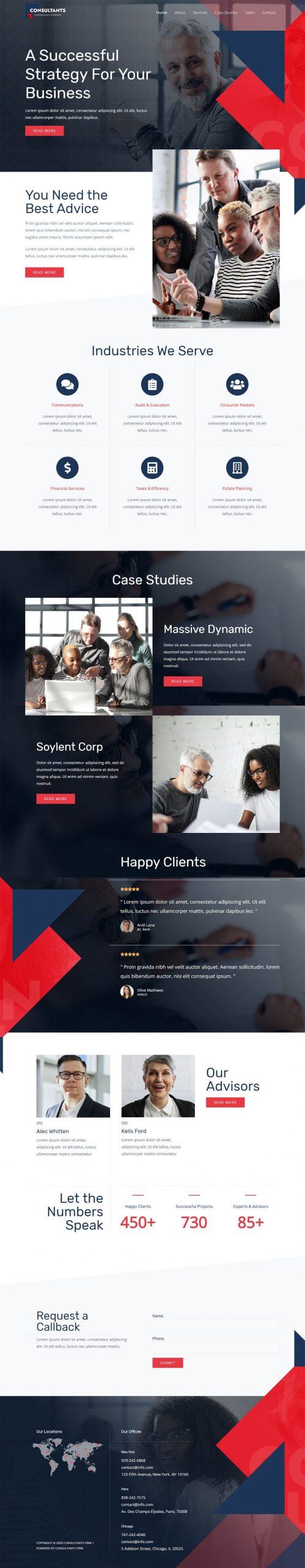 Adamo Web Design | Web Design Durham | consultant firm 04 scaled
