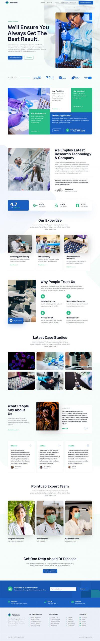 Adamo Web Design | Web Design Durham | diagnostics lab 04 scaled