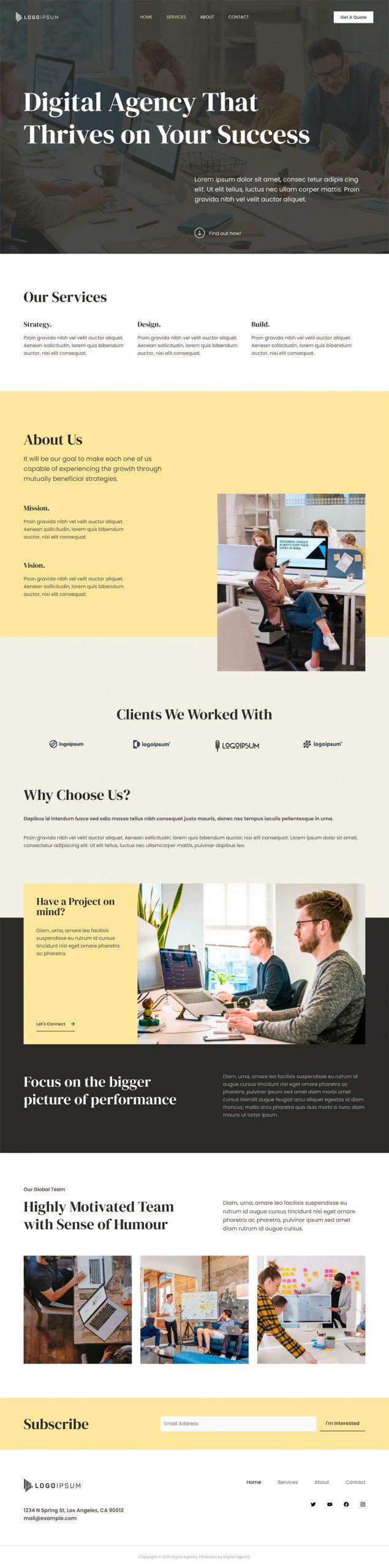Adamo Web Design | Web Design Durham | digital agency 02 home scaled