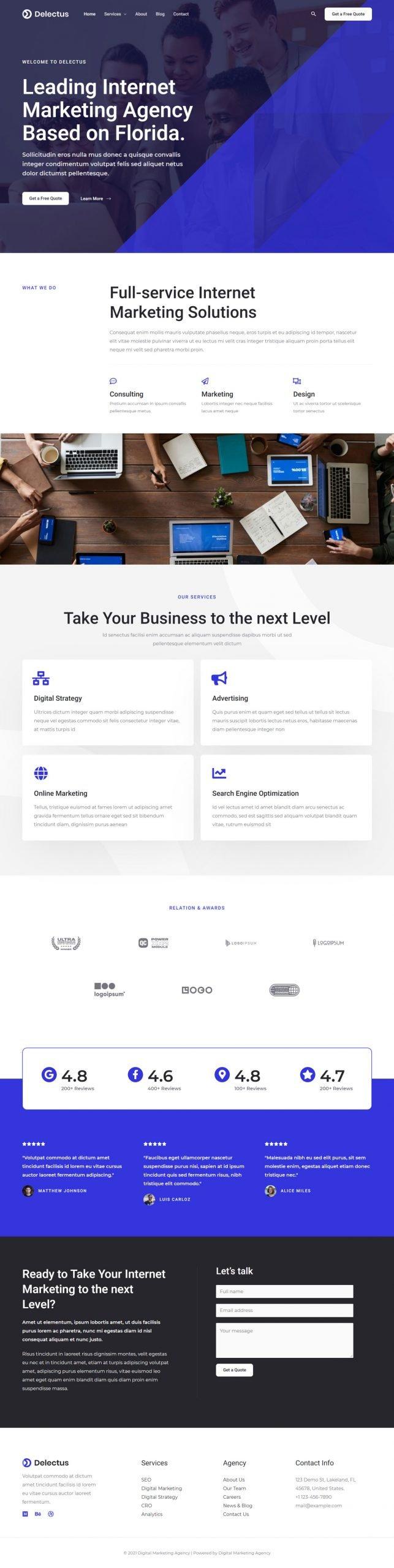 Adamo Web Design | Web Design Durham | digital marketing agency 02 home scaled