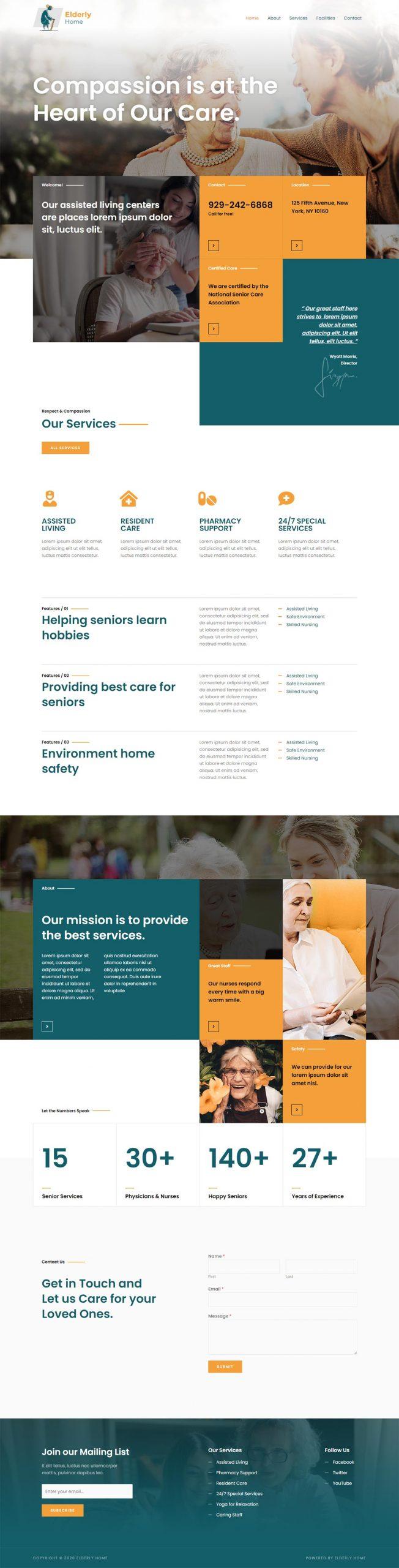 Adamo Web Design | Web Design Durham | elderly care 02 scaled