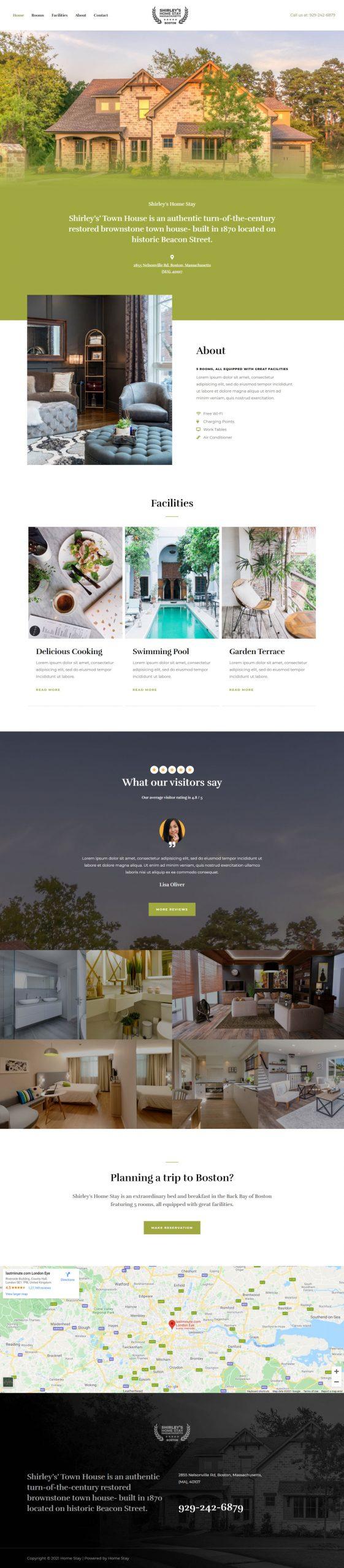 Adamo Web Design | Web Design Durham | home stay 02 home scaled