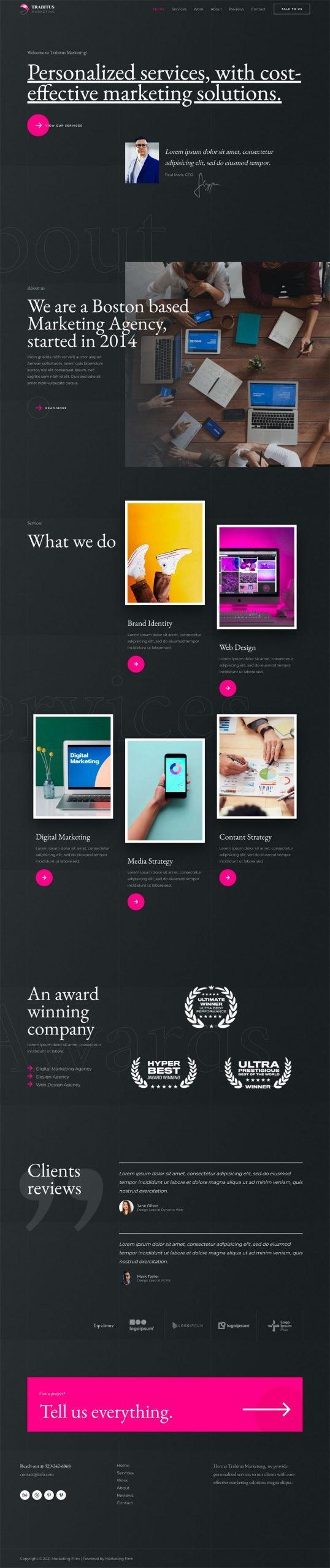Adamo Web Design | Web Design Durham | marketing firm 04 home scaled