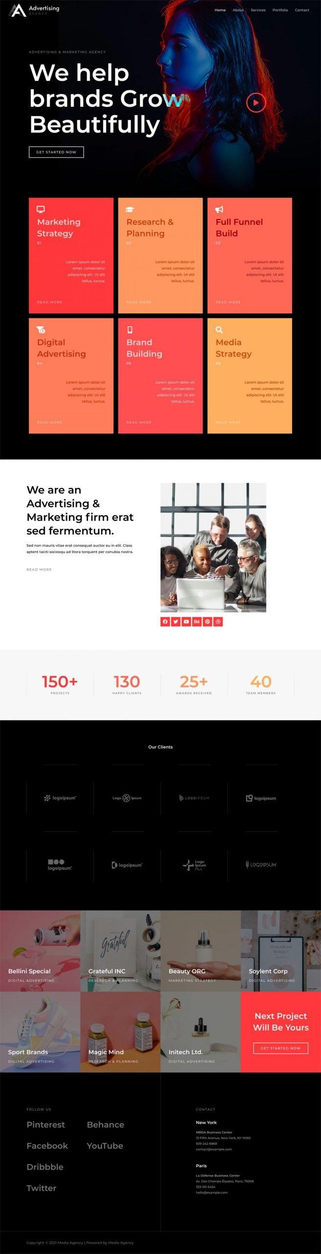 Adamo Web Design | Web Design Durham | media agency 04 home scaled
